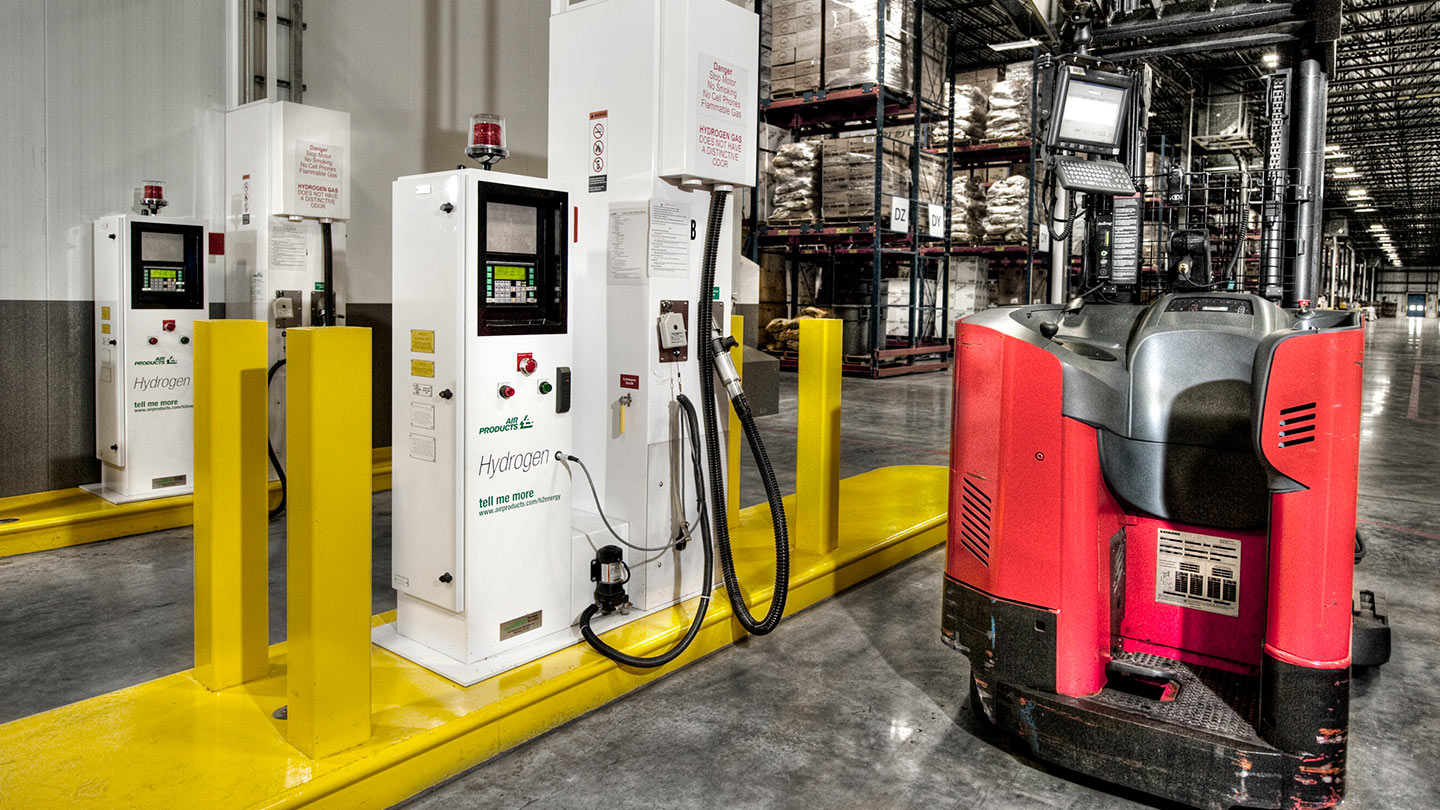 Hydrogen Dispensers and Forklift