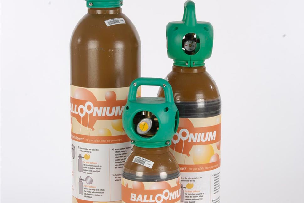 Balloonium Maxi, Midi and Mini cylinders