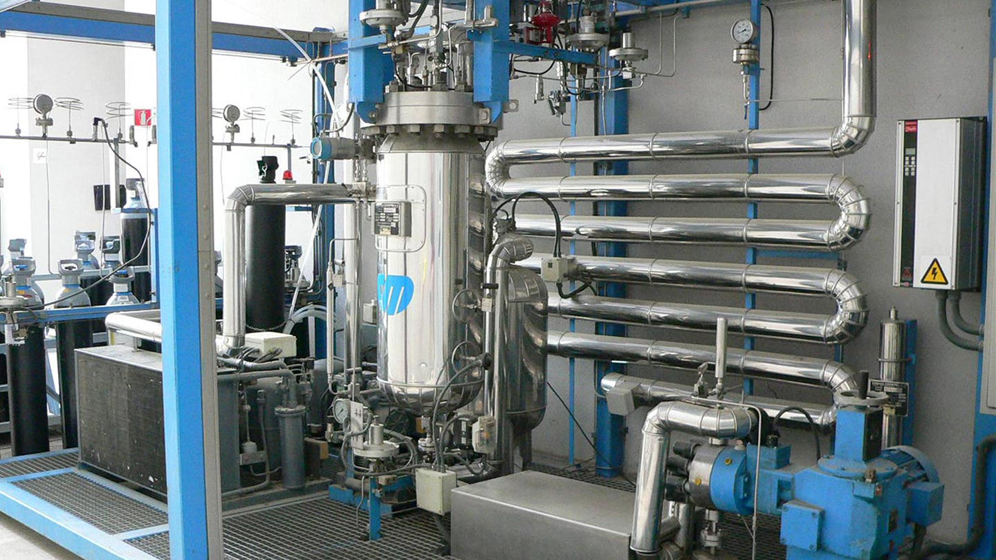 CO2 Supercritical Pilot Plant