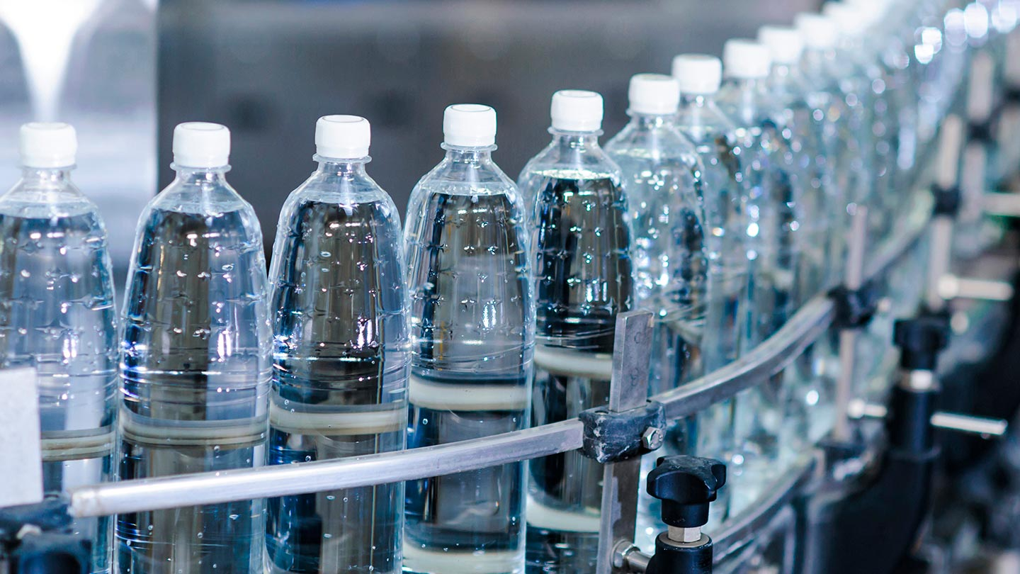 Beverages bottling plant