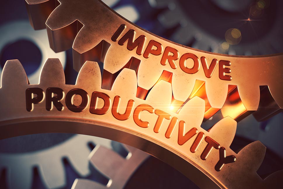 Improve productivity gears